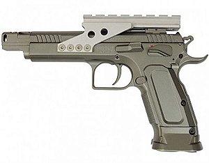 Pistola Tanfoglio Gold Custom Full Metal Blowback                                                       VER DESCRIÇÃO