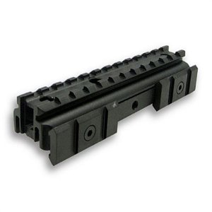 NC Star AR15 Carry Handle Tri-Rail