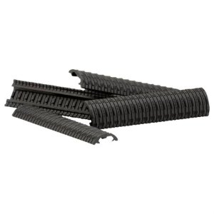 Dam Rail Cover Modular  Black - Pack c/4