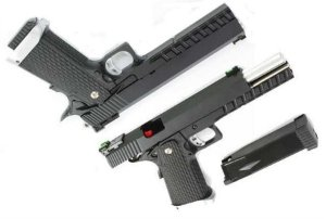 Pistola KJW Xcelerator 6^ Hi-Capa Full