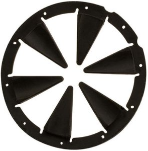Exalt Speed Feed Dye Rotor Black