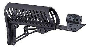 Tippmann TMC Air-Thru Adjustable Stock Black