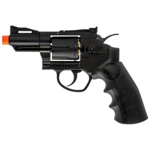 """Pistola  Valken Revolver 2.5"""" C02 Metal-6mm BLK"""