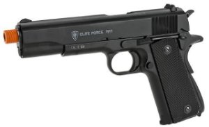 Pistola Elite Force Full Metal 1911 A1 CO2 Gas Blowback Umarex KWC
