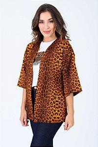 Kimono Estampado Animal Print