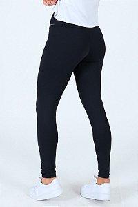 Calça legging com cós alto fitness