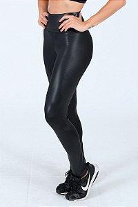 Calça legging em cirre cós largo fitness