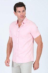 Camisa de algodão manga curta