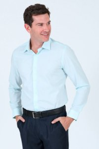 Camisa manga longa regular fit