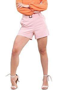 Shorts curto com cinto