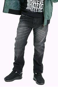 Calça jeans juvenil black