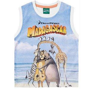 Regata machão infantil Madagascar