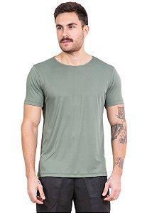 Camiseta manga curta com proteção solar