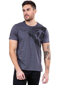 Camiseta manga curta estampa Surf