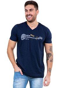 Camiseta manga curta discover your best
