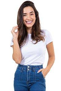 Blusa manga curta gola redonda básica