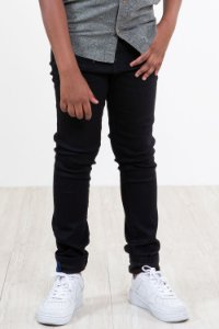 Calça jeans juvenil skinny