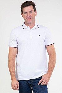 Camisa polo slim em piquet