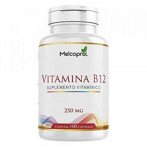 Vitamina B12 250 MG X 100 Cápsulas
