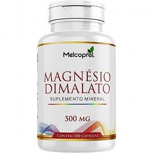 Magnésio Dimalato 500 mg X 100 Cápsulas
