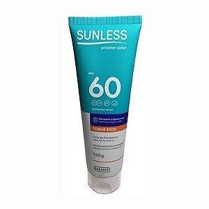 Protetor Solar Sunless FPS 60 Toque Seco