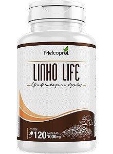 ÓLEO DE LINHAÇA 1000MG 120CAPS -  MELCOPROL