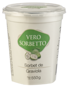 VERO SORBETTO GRAVIOLA 550G/500ML