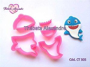 Cortador Bebe Tubarão 6 cm