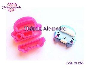 Cortador carrinho Cute - 4 cm