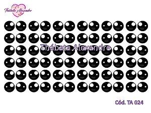 Adesivo de Olhos c/ Recorte TA 024