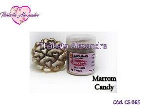 Corante em Pó Candy - Marrom