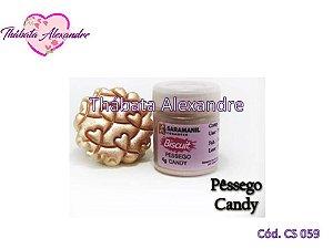Corante em Pó Candy - Pêssego