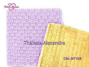Textura de Silicone - Cesta
