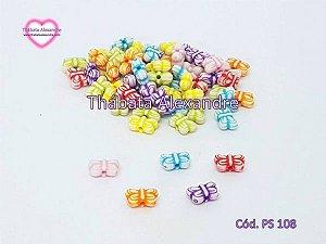 Mini Borboletas Coloridas