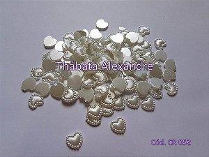Coração Chapado - Branco