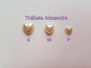 Chaton Coração G - Branco