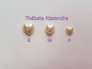 Chaton Coração M - Branco