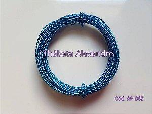 Arame Duplo Azul