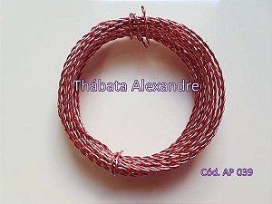 Arame Duplo Rosa