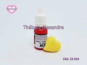 Corante Líquido Amarelo Bebe