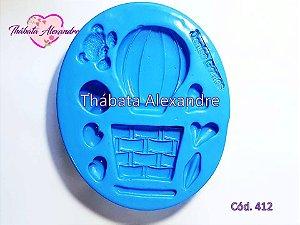 Molde de Silicone Balão Magico