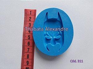 Molde de Silicone Mascara do Batman