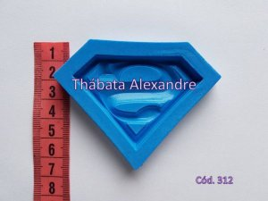 Molde de Silicone Simbolo Superman