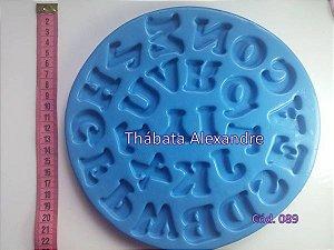 Molde de Silicone  Alfabeto G2