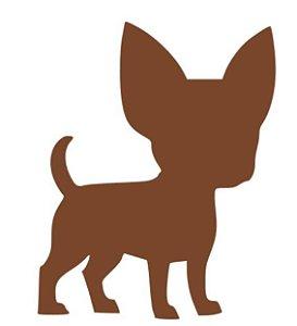 Cortador Cachorro Chihuahua 6 Centímetros