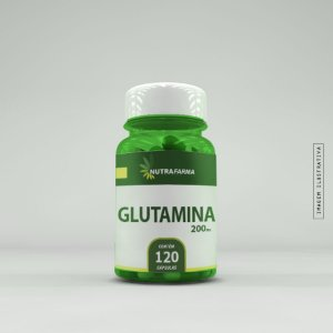 Glutamina 500mg - 120 Cápsulas