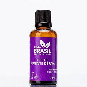 Óleo Vegetal de Semente de Uva - Flora Brasil - 30 ml