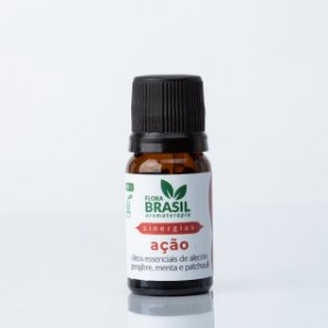 Sinergia Ação - Flora Brasil - 10 ml
