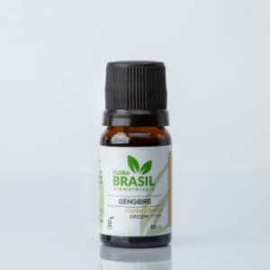 Óleo Essencial Gengibre - Flora Brasil - 05 ml