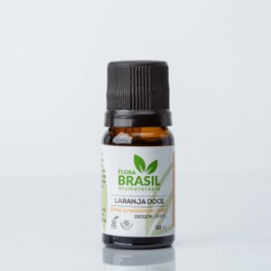 Óleo Essencial Laranja Doce - Flora Brasil - 10 ml
